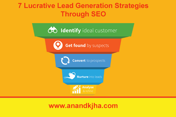 7 Lucrative lead generation strategies through SEO